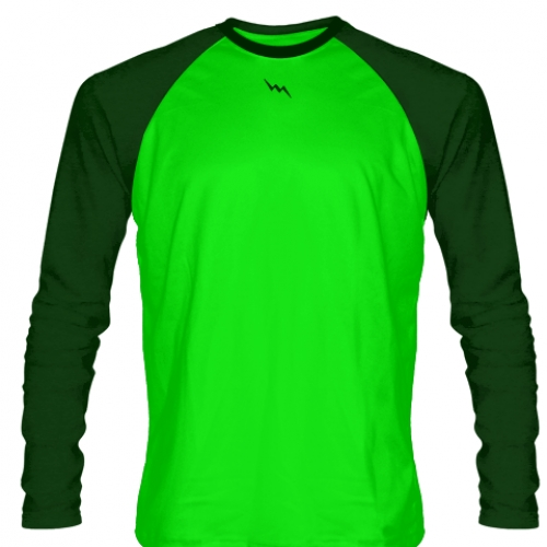 Hunter+Green+Long+Sleeve+Soccer+Jerseys