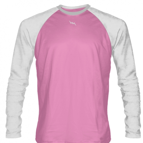 Light+Pink+Long+Sleeve+Soccer+Jerseys