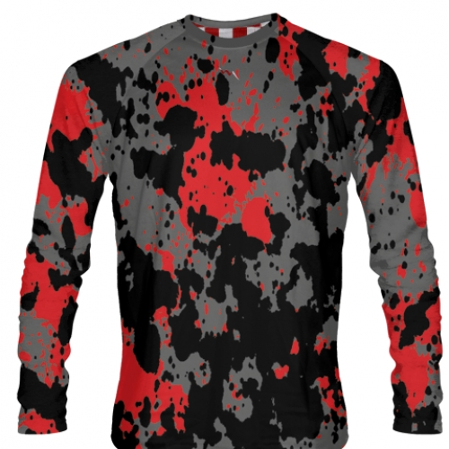 Paint+Splatter+Long+Sleeve+Soccer+Jerseys