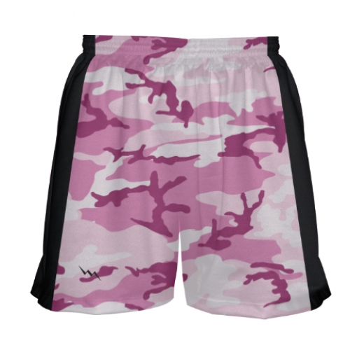 Girls+Pink+Camouflage+Lacrosse+Shorts
