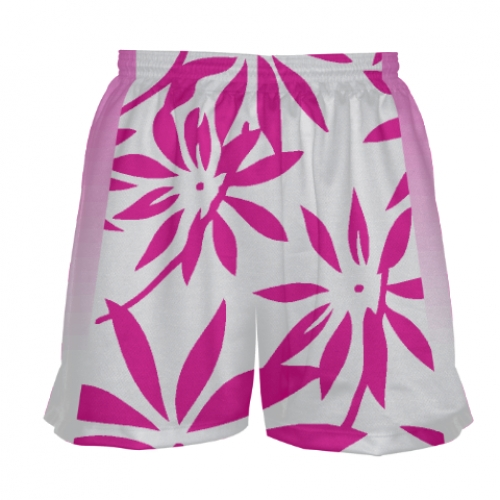 Girls+Pink+Hawaiian+Lacrosse+Shorts