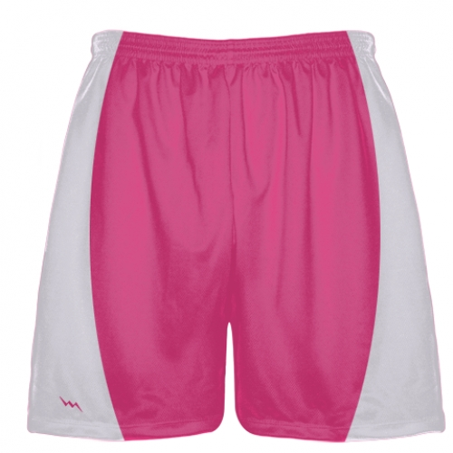 Hot+Pink+Football+Shorts