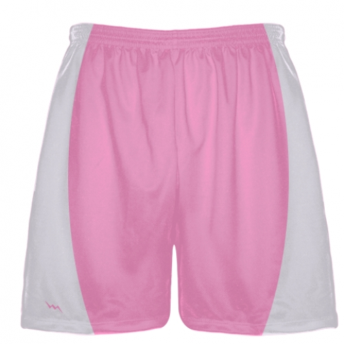 Light+Pink+Football+Shorts