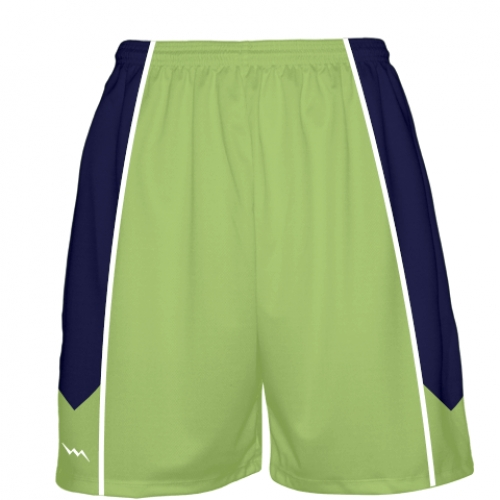 Lime+Green+Basketball+Shorts