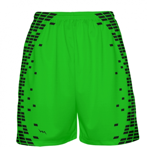 Neon+Green+Basketball+Shorts