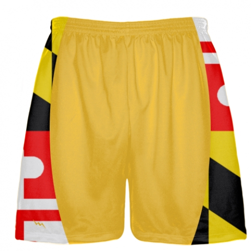 Maryland+Flag+Custom+Lacrosse+Shorts