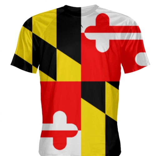 Maryland+Flag+T+Shirt