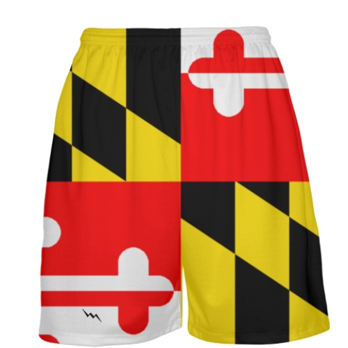 Maryland+Flag+Basketball+Shorts