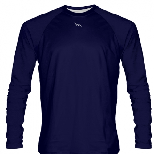 Navy+Blue+Long+Sleeved+Softball+Jerseys