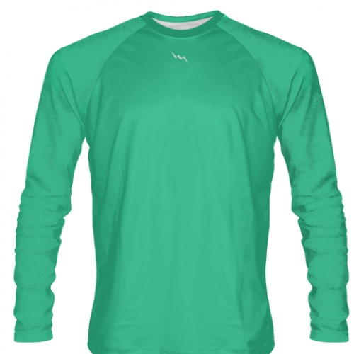 Teal+Long+Sleeve+Softball+Jerseys