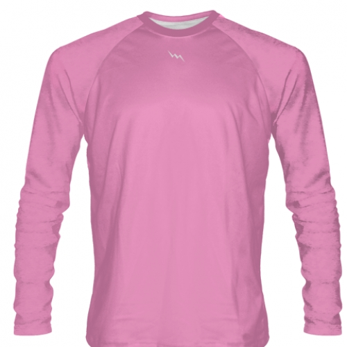 Pink+Long+Sleeve+Softball+Jerseys