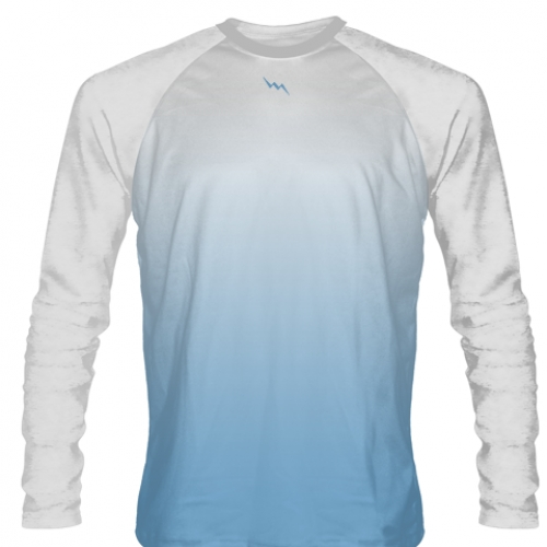 Columbia+Blue+Long+Sleeve+Softball+Jerseys