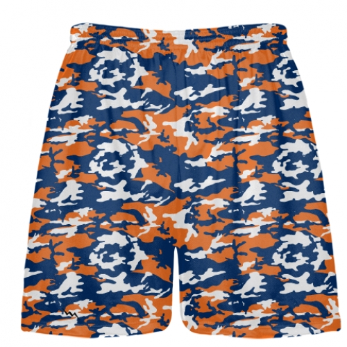 Orange+Blue+Camouflage+Lacrosse+Shorts