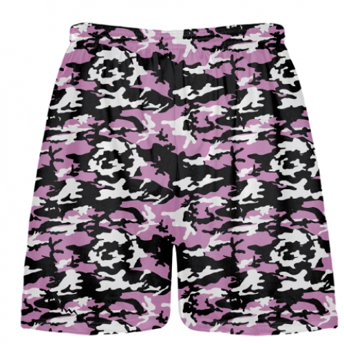 Pink+Black+Camouflage+Lacrosse+Shorts
