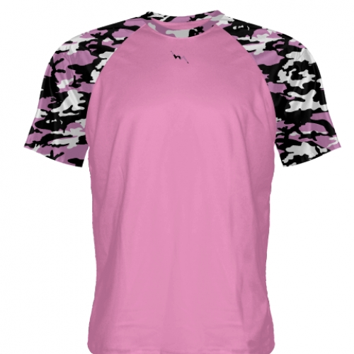 Custom+Pink+Camouflage+Shooter+Shirts