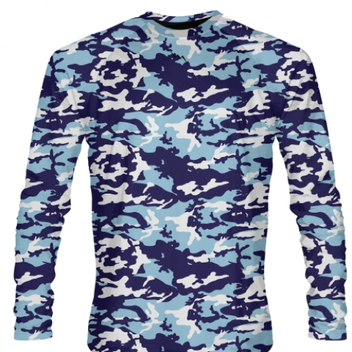 Long+Sleeve+Camo+Shirts+Blue+Light+Blue