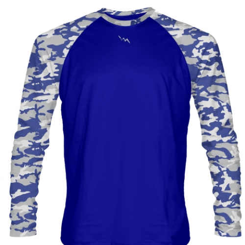 Long+Sleeve+Camouflage+Shirts+Blue+Gray