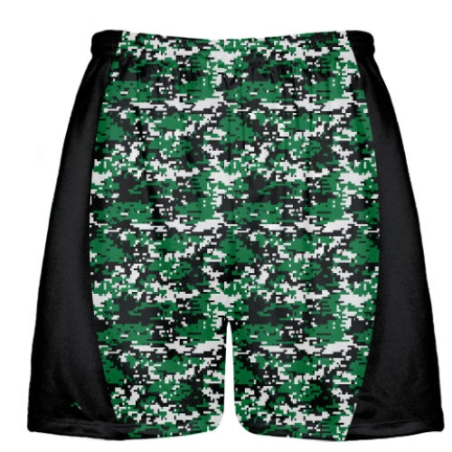 Dark+Green+Digital+Camouflage+Lacrosse+Shorts