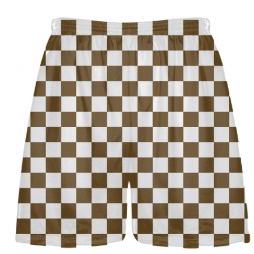 Brown+and+White+Checker+Board+Shorts