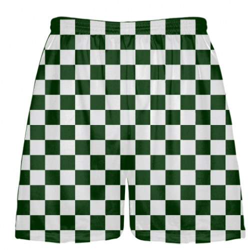 Forest+Green+and+White+Checker+Board+Shorts