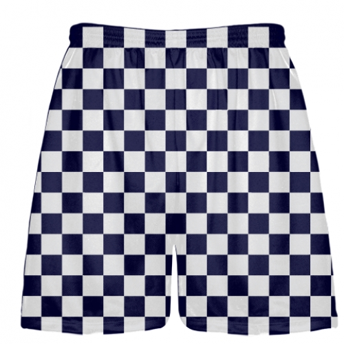 Navy+White+Checker+Board+Shorts