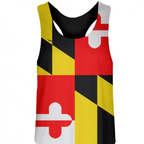 Maryland+Flag+Field+Hockey+Pinnies