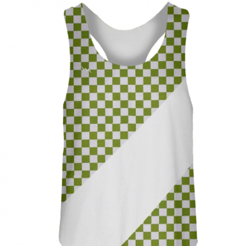 Green+Checker+Girls+Field+Hockey+Pinnies