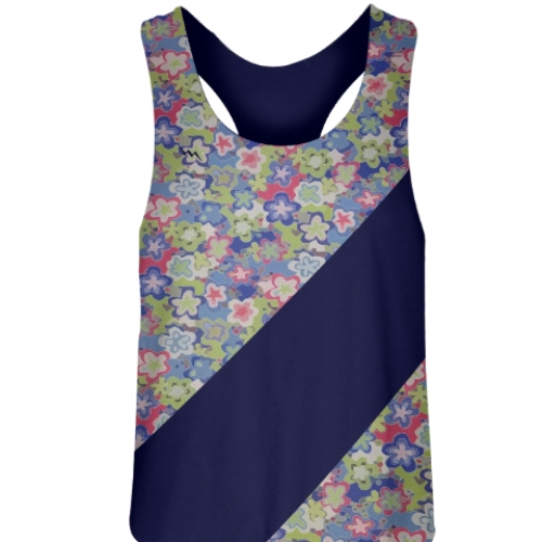 Floral+Print+Field+Hockey+Pinnies