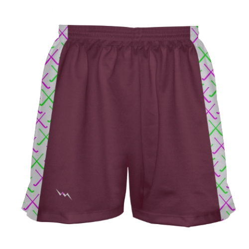 Maroon+Field+Hockey+Shorts