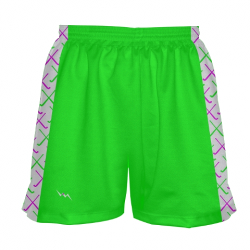 Neon+Green+Field+Hockey+Shorts