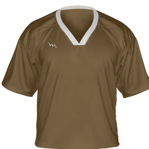 Brown+Lacrosse+Jerseys