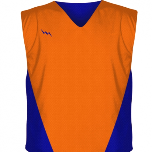 Orange+Collegiate+Cut+Reversible+Jerseys