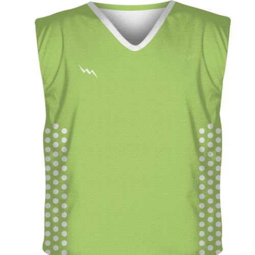 Lime+Green+Collegiate+Cut+Reversible+Jersey