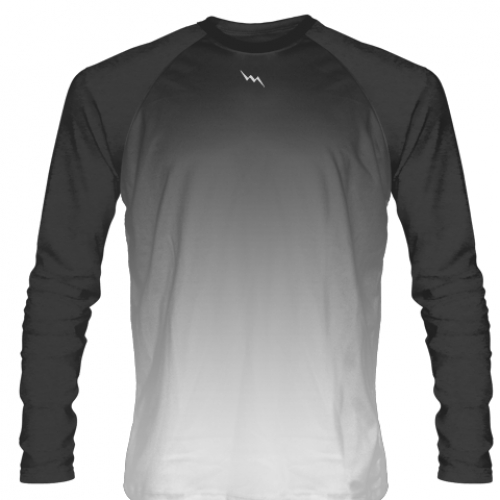 Charcoal+Gray+Long+Sleeve+Lacrosse+Shirts
