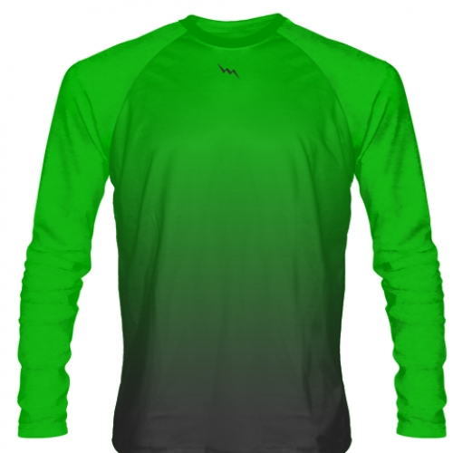 Neon+Green+Long+Sleeve+Lacrosse+Shirts