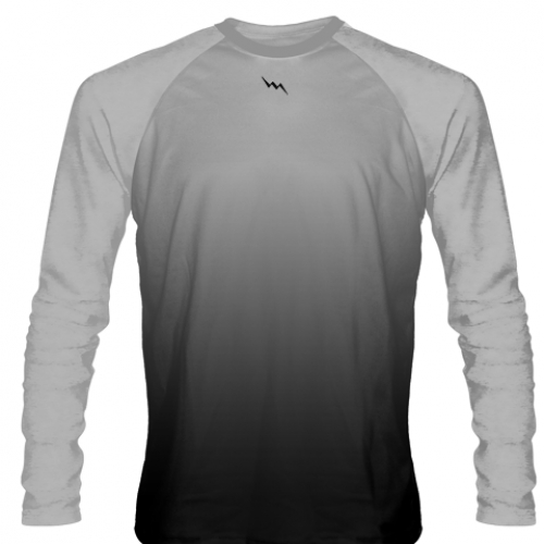 Silver+Long+Sleeve+Lacrosse+Shirts