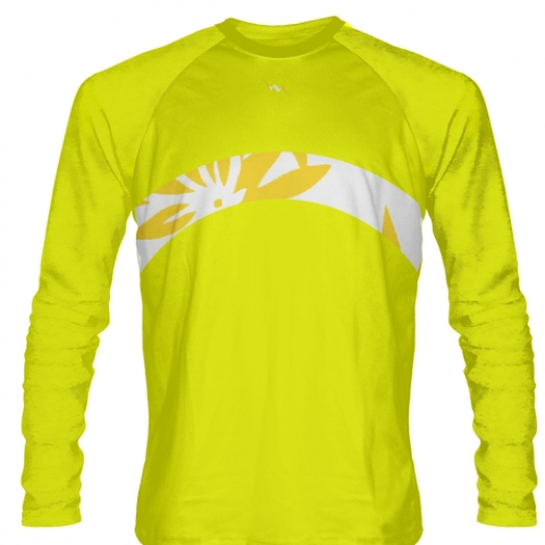 Yellow+Long+Sleeve+Lacrosse+Shirts