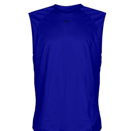 Royal+Blue+Sleeveless+Softball+Shirts