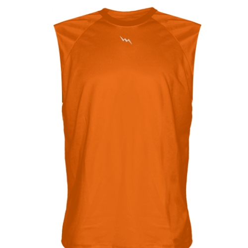 Orange+Sleeveless+Softball+Jerseys