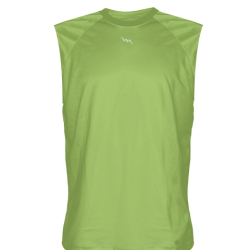 Lime+Green+Sleeveless+Softball+Jerseys
