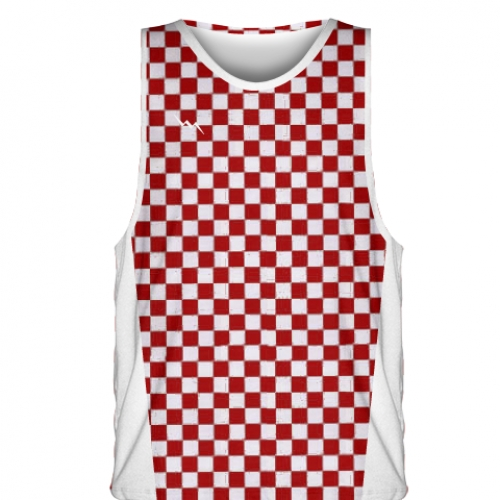 Red+Checker+Board+Basketball+Jerseys