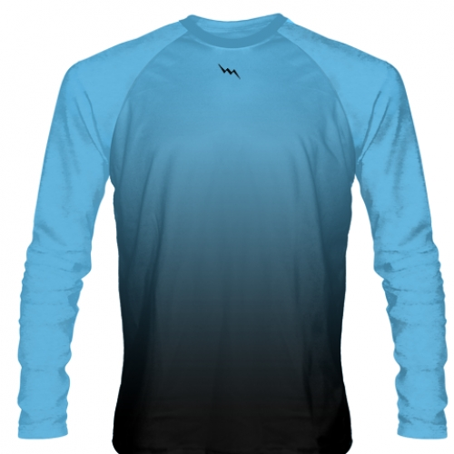 Powder+Blue+Long+Sleeve+Hockey+Shirts