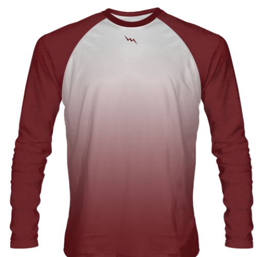 Maroon+Long+Sleeve+Field+Hockey+Shirts