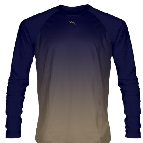Navy+Blue+Long+Sleeve+Football+Shirts