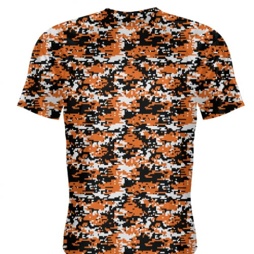Orange+Digital+Camouflage+Basketball+Shooter+Shirts