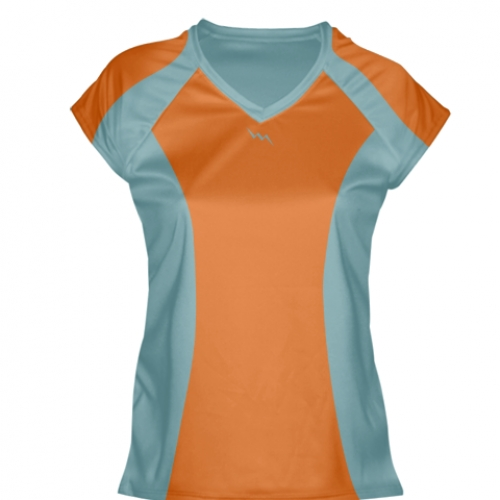 Orange+Womens+Lacrosse+Shirts