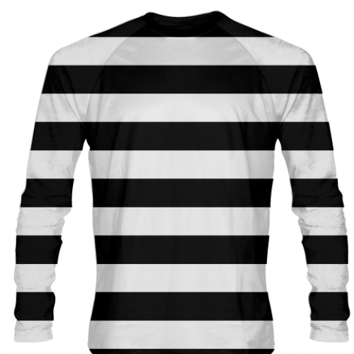 Burglar+Costume+-+Black+White+Striped+Long+Sleeve+Shirts