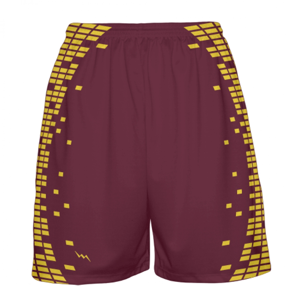 Cleveland+Maroon+Basketball+Shorts