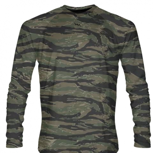 Tiger+Camouflage+Long+Sleeve+Shirt
