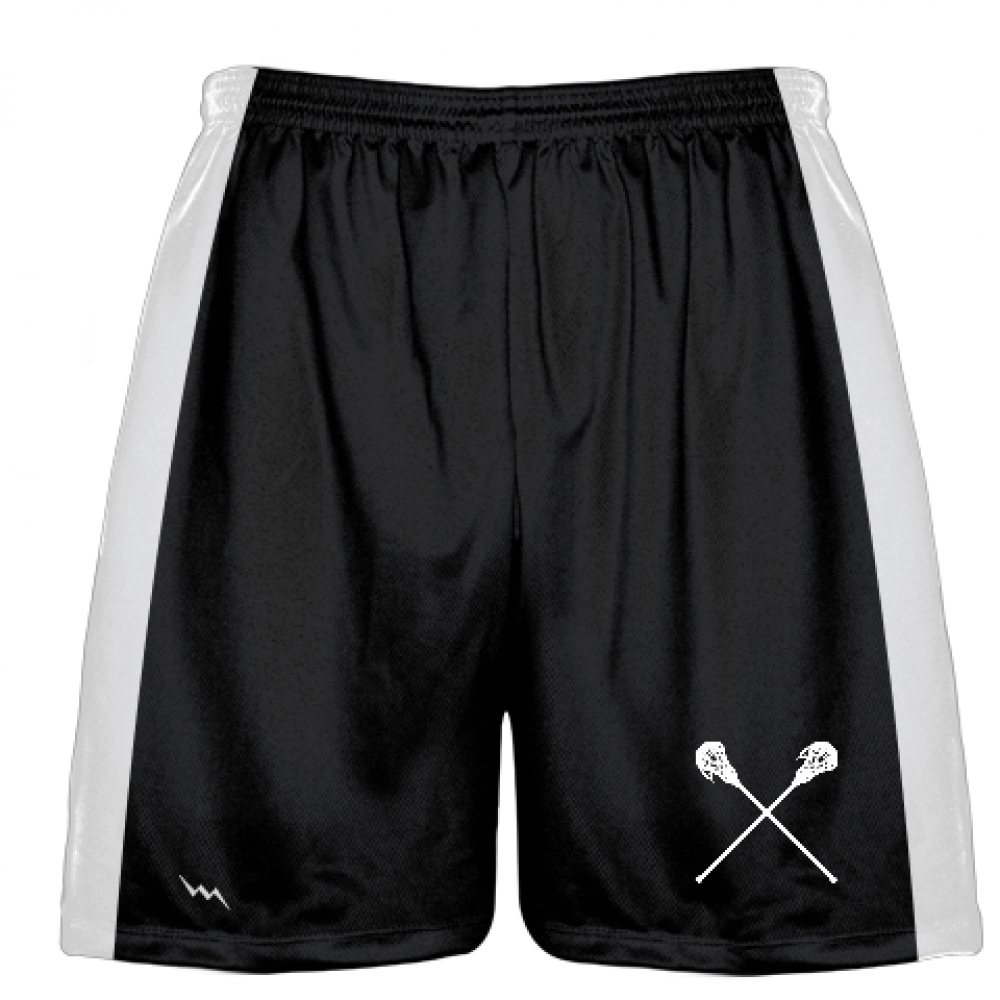 Black+Lacrosse+Short